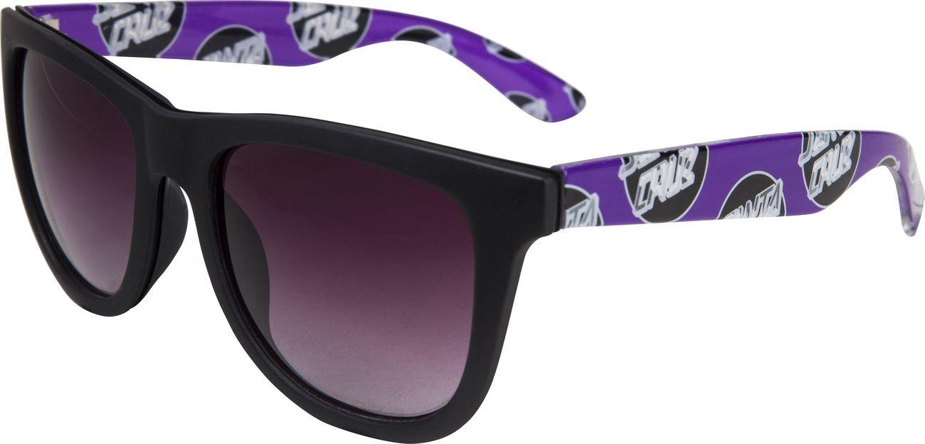 26a5d932ed68 sluneční brýle santa cruz OTHER DOT SUNGLASSES Black/Purple