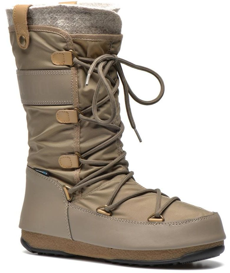 50404e368c dámské zimní boty moon boot W.E. MONACO FELT Sand