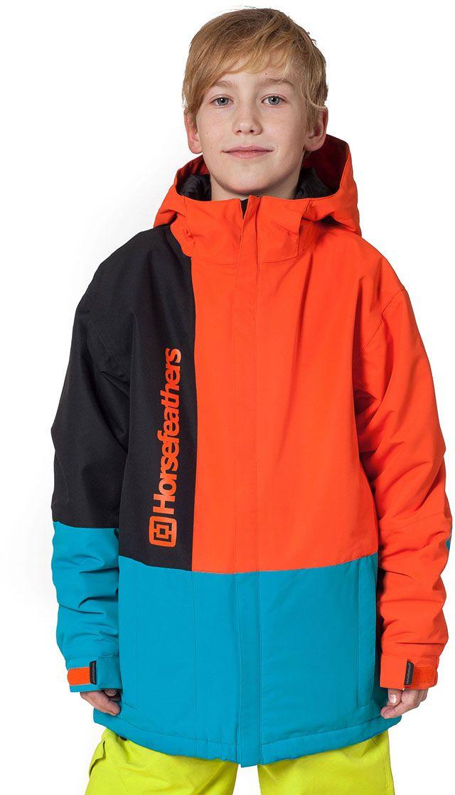 8db35dfa724d dětská zimní bunda horsefeathers TAYLOR KIDS JACKET (orange)