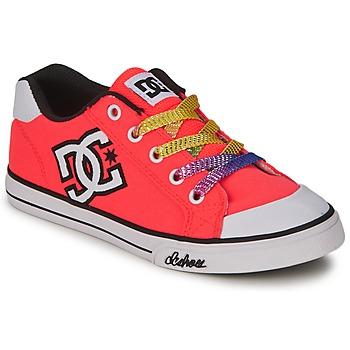 dětské boty DC CHELSEA CANVAS G SHOE CRL