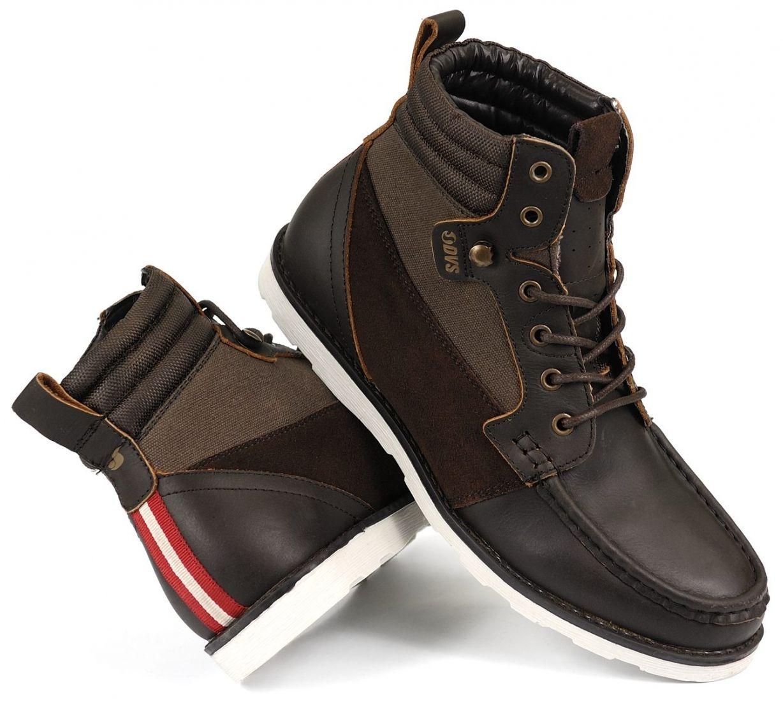 pánské zimní boty DVS BISHOP BROWN