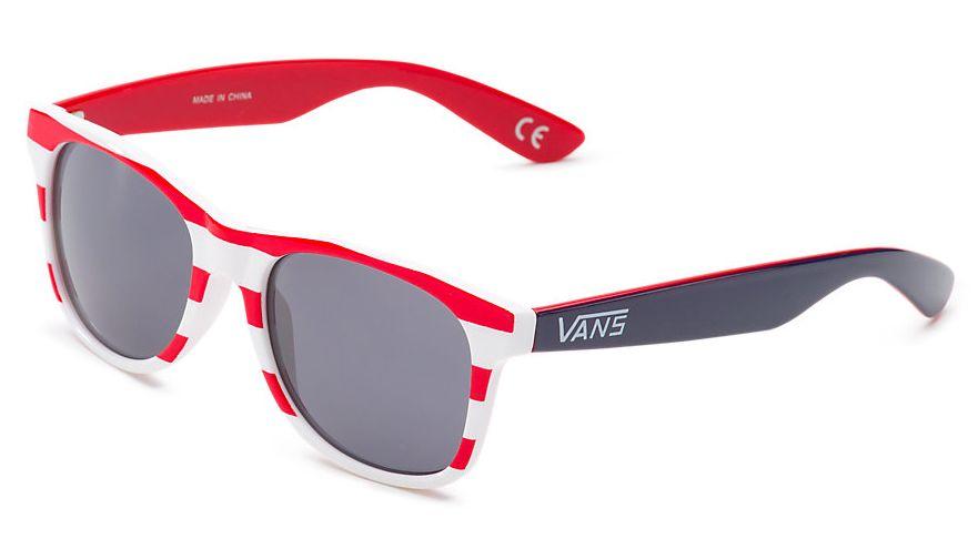 pánské sluneční brýle VANS SPICOLI 4 SHADES White/Racing Red/Blueprint