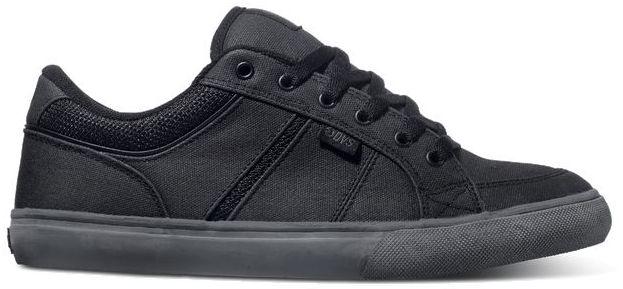 pánské boty DVS BARTON BLACK WAXED CANVAS