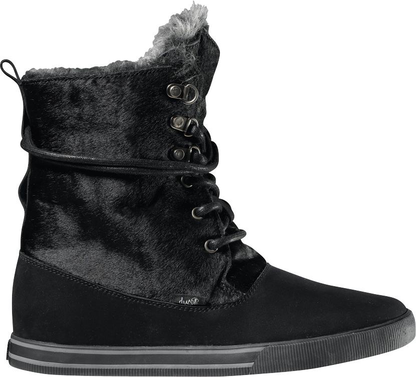 dámské zimní boty DVS JACKSON FA/BLACK FT NUBUCK