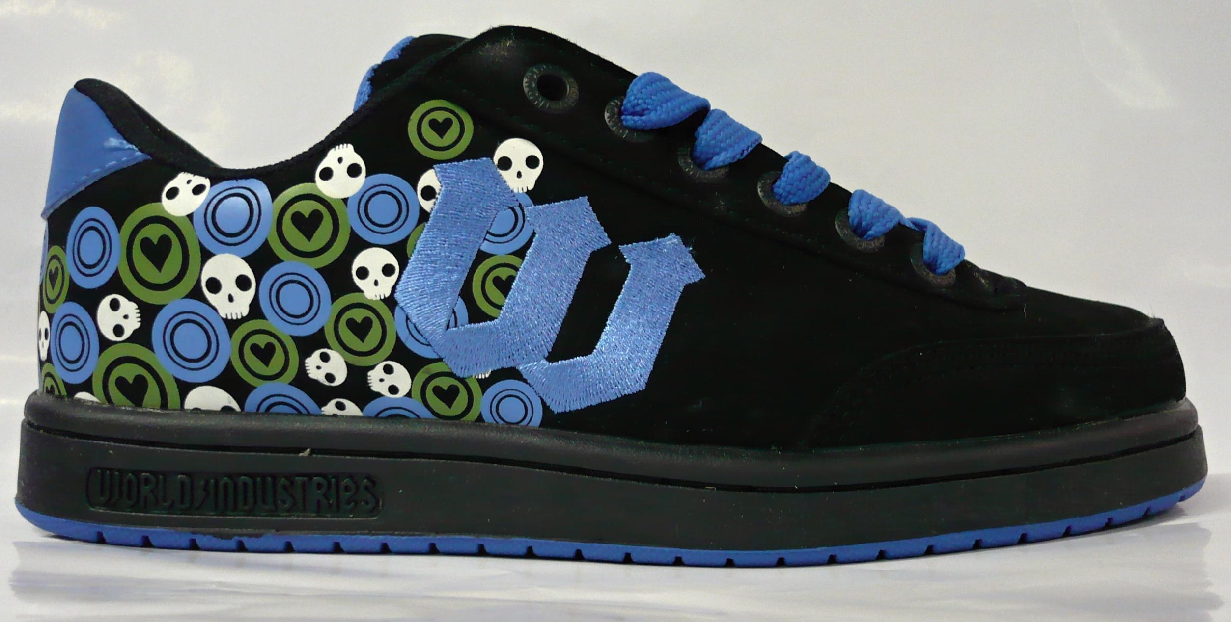 dámské boty WORLD INDUSTRIES Basic se black blue