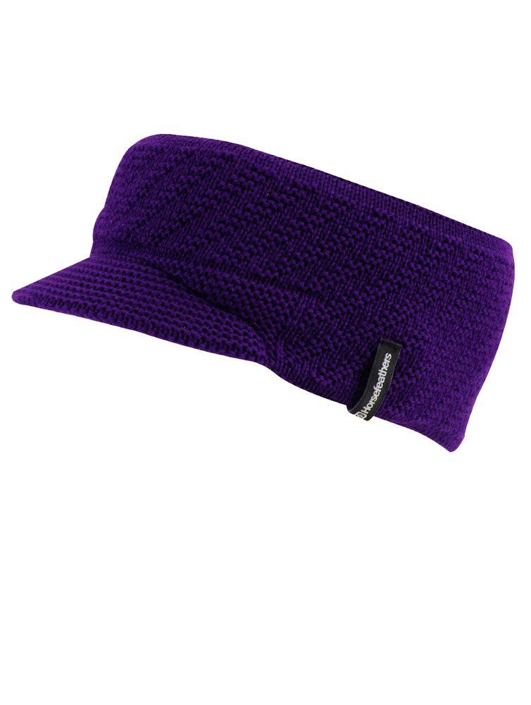 dámská čelenka HORSEFEATHERS Euphory violet