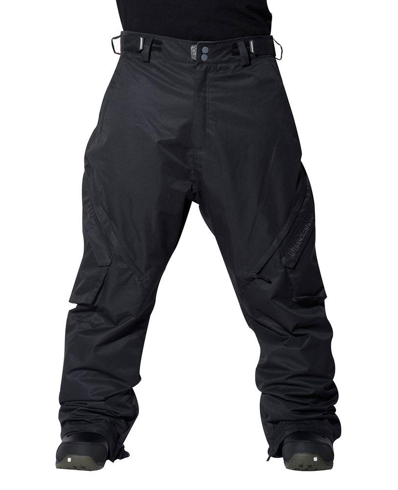 pánské kalhoty HORSEFEATHERS SERPENS PANTS insulated (black)