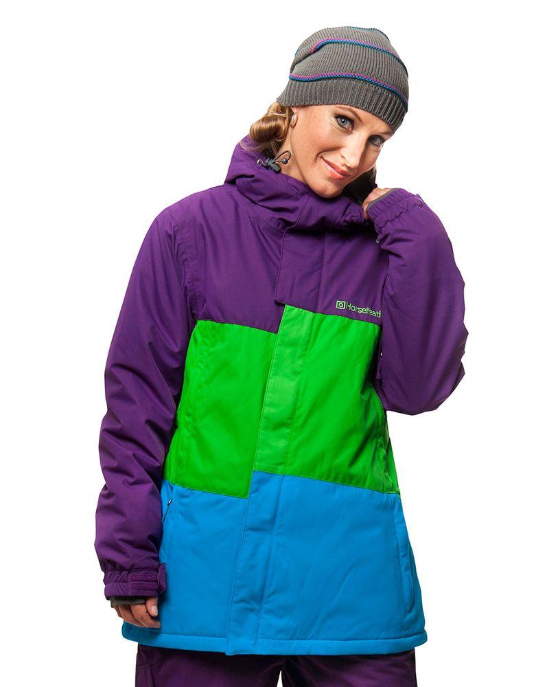 dámská zimní bunda HORSEFEATHERS RIGA JACKET (purple)