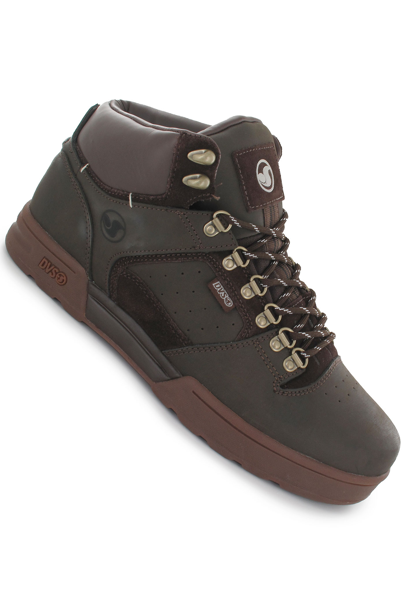 pánské zimní boty DVS Westridge,brown leather snow