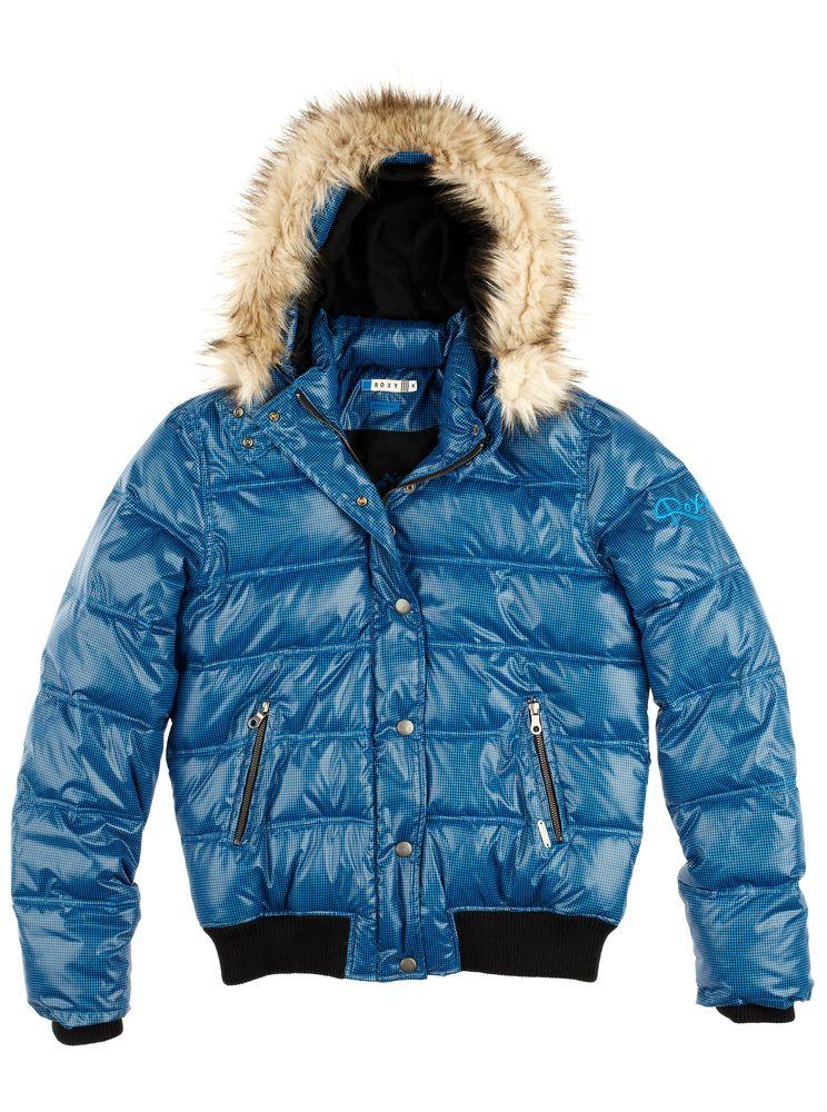 dámská zimní bunda ROXY IN TOWN VIOLET