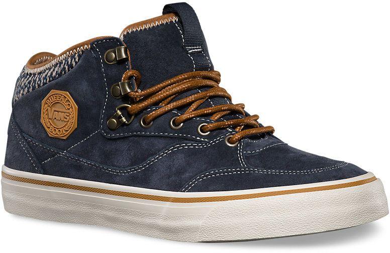 pánské zimní boty VANS BUFFALO BOOT MTE (MTE) Blue Graphite