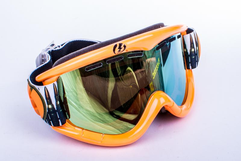 snowboardové brýle ELECTRIC EG1 Ammo Belt bronze gold chrome