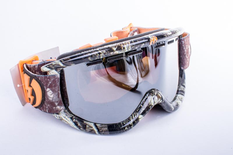 snowboardové brýle ELECTRIC EG.5 Iikka Backstrom bronze silver chrome
