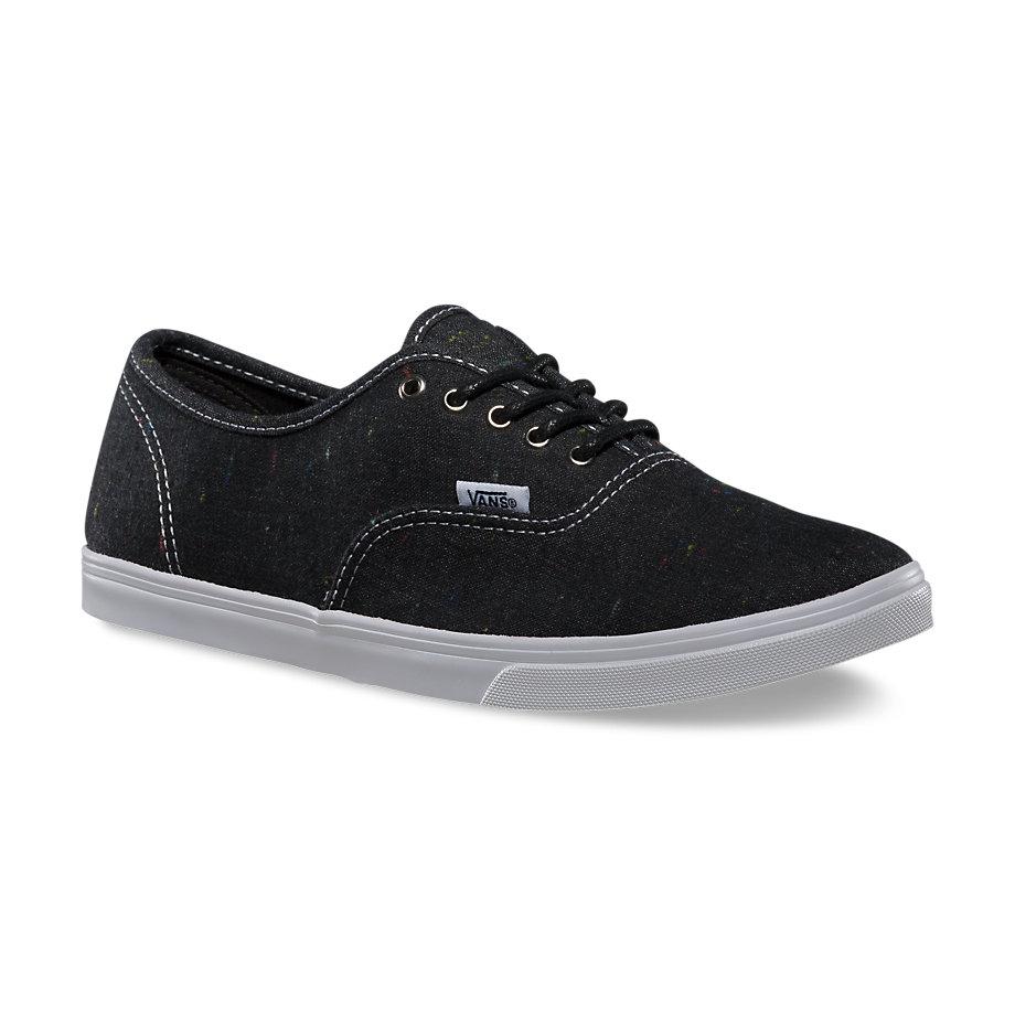 dámské boty VANS AUTHENTIC LO PRO (Speckle Linen) Black