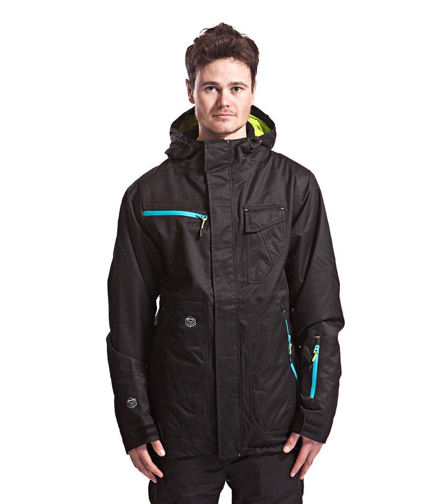 pánská zimní bunda MEATFLY Uranus jacket A,black