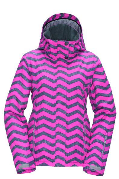 dámská zimní bunda ROXY JETTY JK PINK
