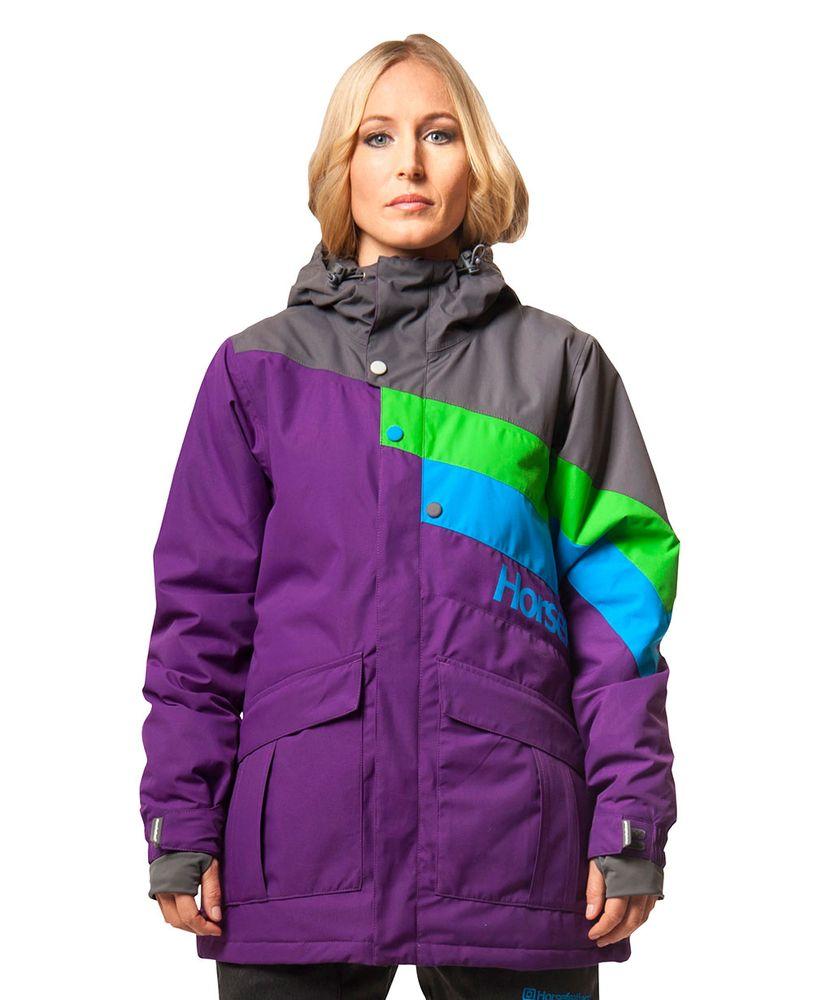 dámská zimní bunda HORSEFEATHERS ATREI JACKET (purple)