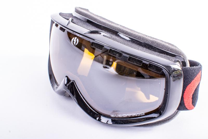 snowboardové brýle ELECTRIC EGK Gloss Black bronze silver chrome