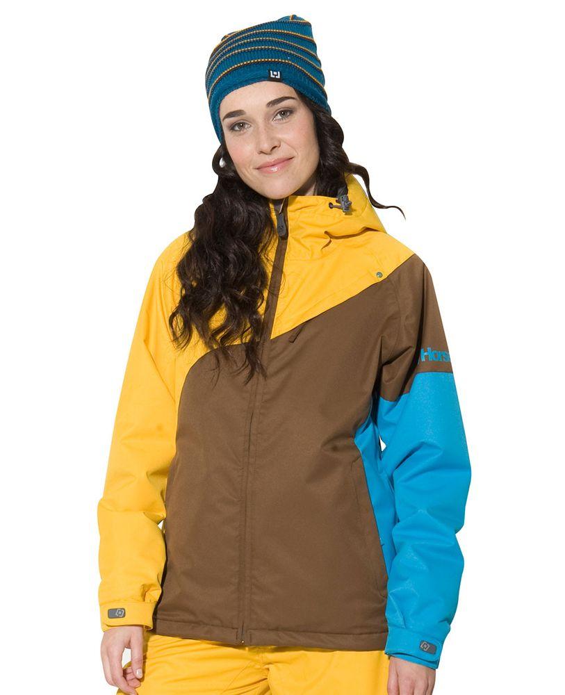 dámská zimní bunda HORSEFEATHERS AURIGA JACKET (yellow)
