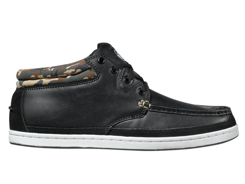 pánské boty DVS Hunt,black leather