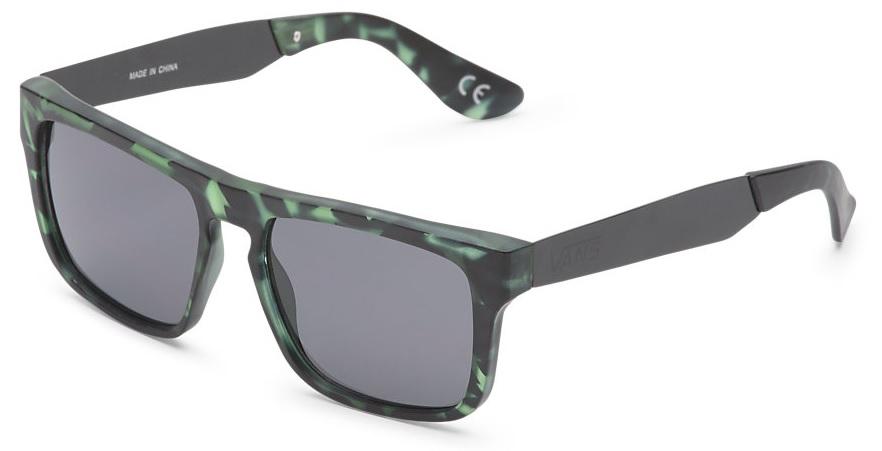 pánské sluneční brýle VANS SQUARED OFF Matte Finish Anchorage Tortoise
