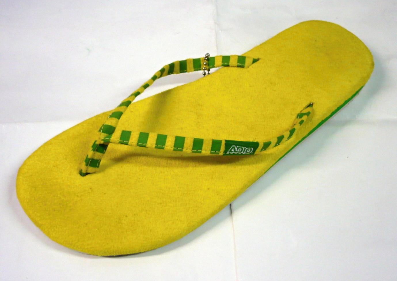 dámské žabky ADIO Primrose yellow kelly