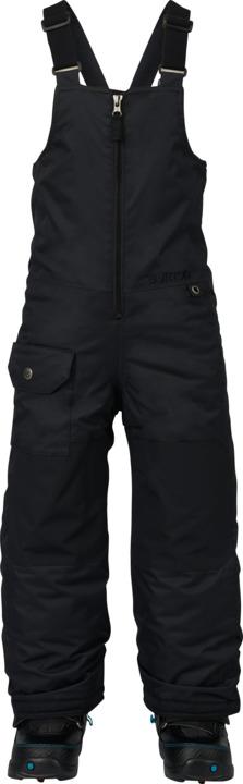 dětské zimní kalhoty BURTON MS MAVEN BIB PT TRUE BLACK