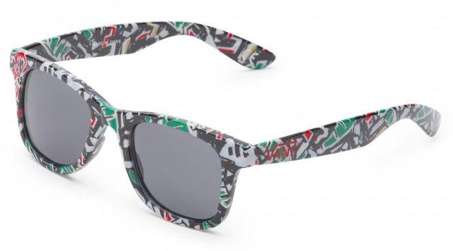 dámské sluneční brýle VANS JANELLE HIPSTER SUNGLASSES White Multi