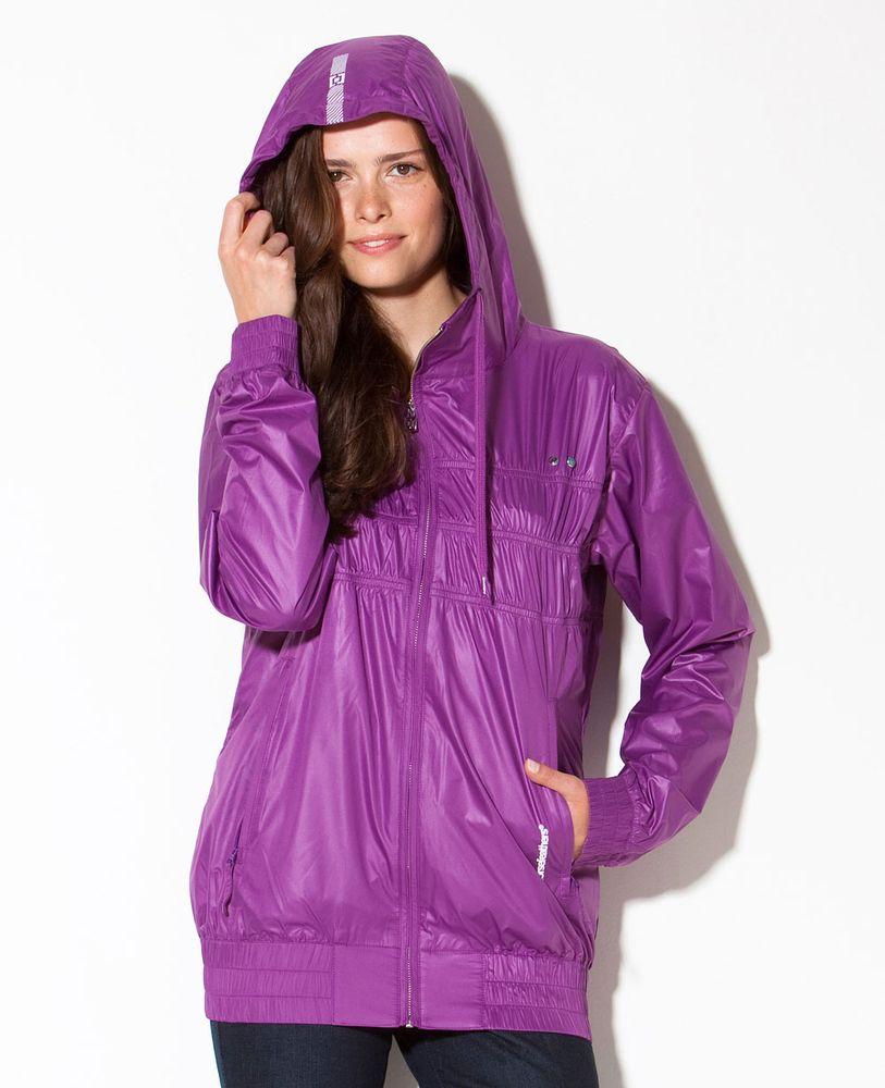 dámská jarní bunda HORSEFEATHERS MELLOW JACKET (purple)