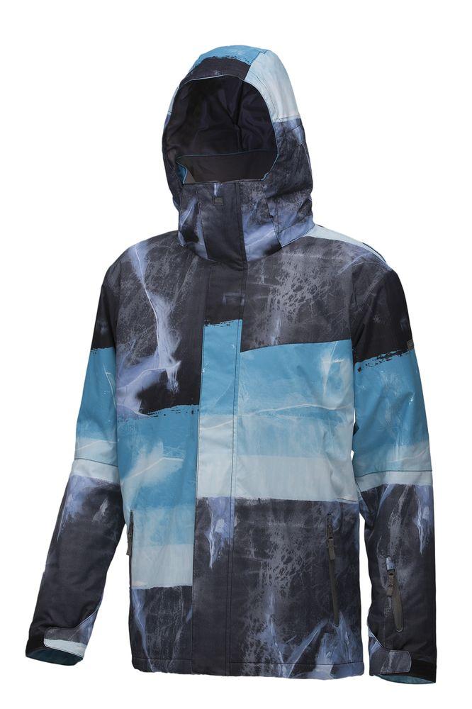 pánská zimní bunda QUIKSILVER NEXT MISSION PRINTED INS JKT G