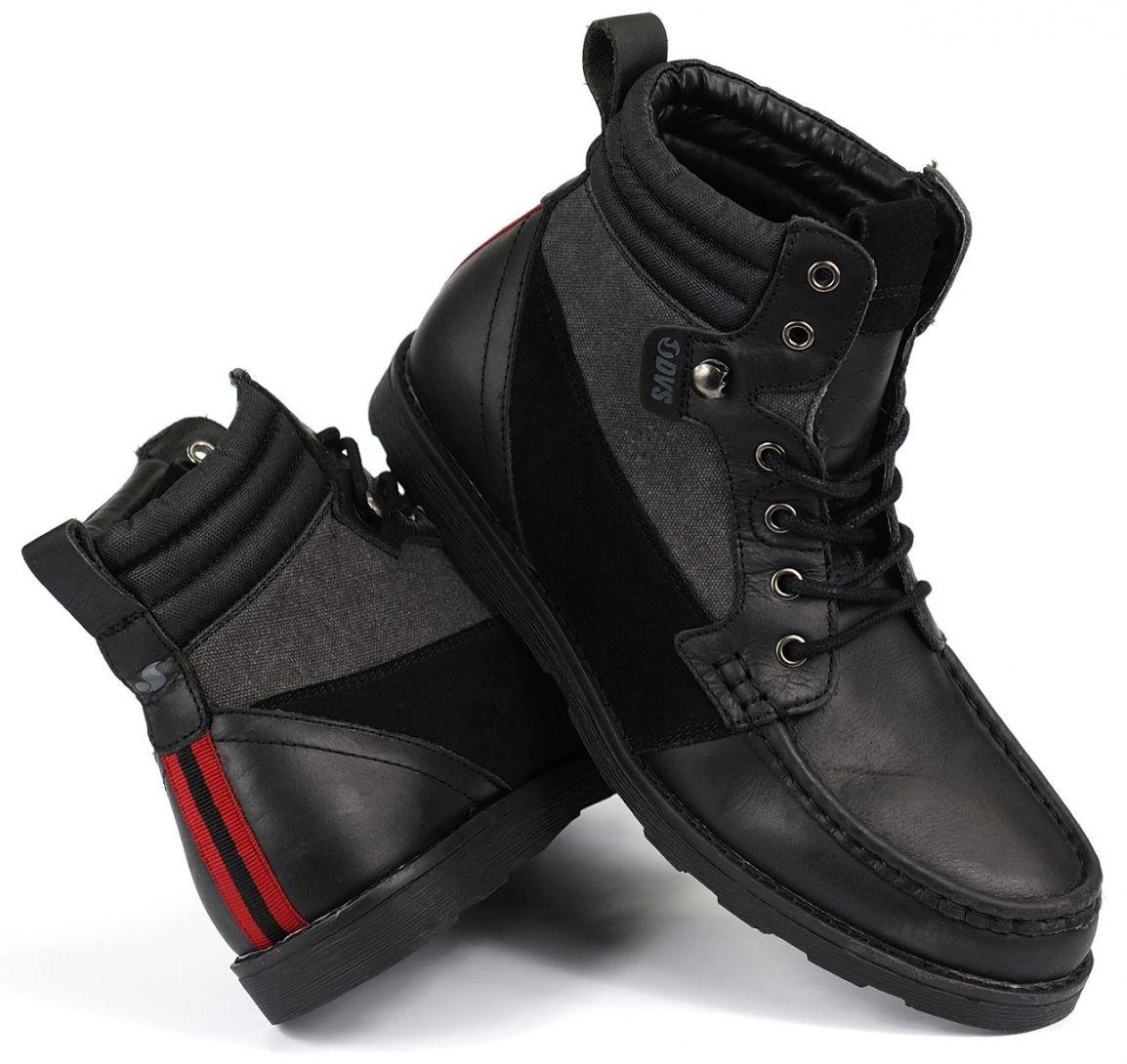 pánské zimní boty DVS BISHOP BLACK