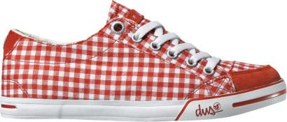 dámské boty DVS Farah red canvas
