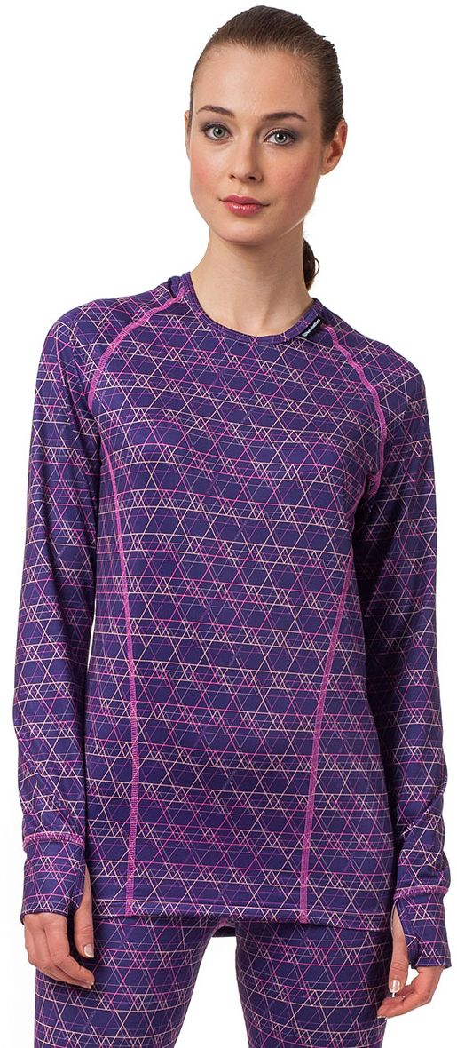 thermo prádlo HORSEFEATHERS GRETA LS SHIRT (neon lines)