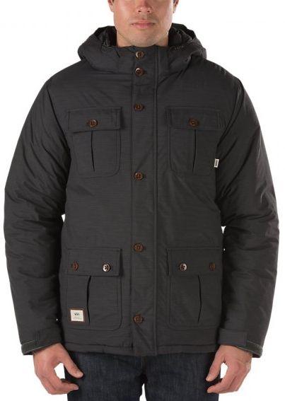 pánská zimní bunda VANS MIXTER II Black