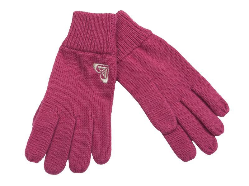 dětské rukavice ROXY Girl gloves plush pink