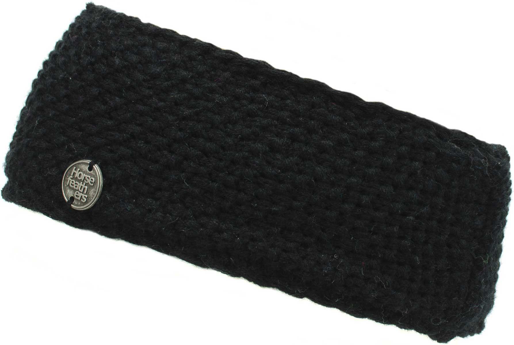 dámská čelenka HORSEFEATHERS TORI HEADBAND (black)