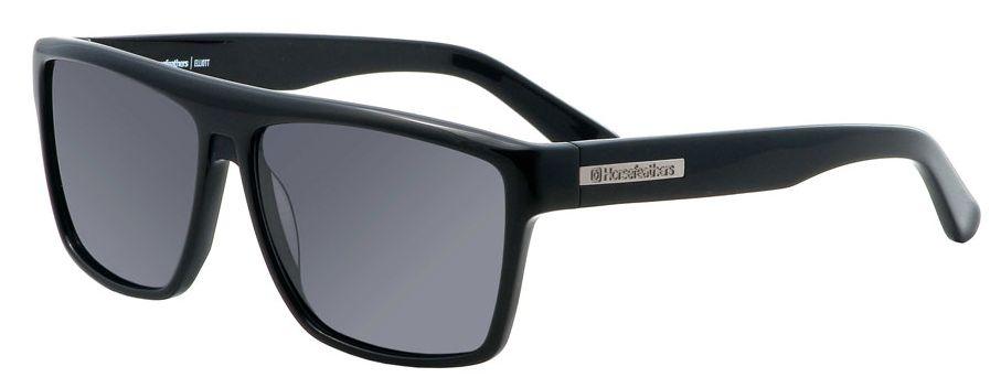 sluneční brýle HORSEFEATHERS ELLIOTT SUNGLASSES (shiny black/gray)