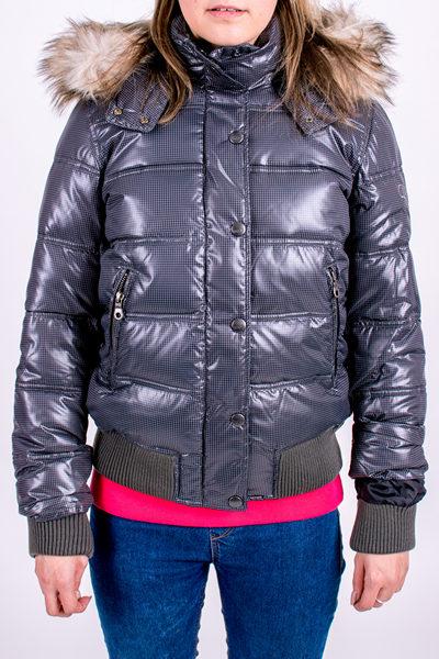 dámská zimní bunda ROXY IN TOWN GREY