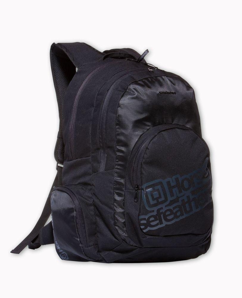 batoh HORSEFEATHERS DIGGER PACK (black)