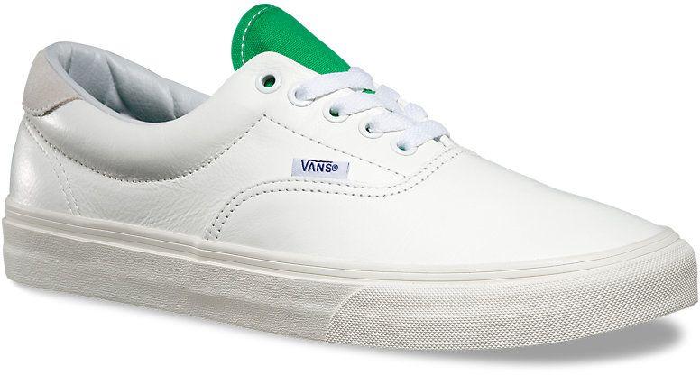pánské boty VANS ERA 59 (Vintage Sport) True White/Kelly Green