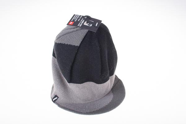pánská zimní čepice s kšiltem QUIKSILVER Black