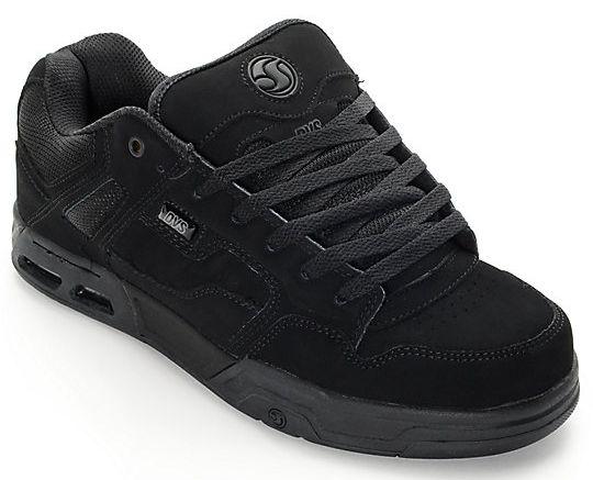 pánské boty DVS ENDURO HEIR BLACK BLACK