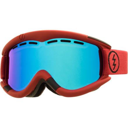 brýle ELECTRIC EG1 BRICK MATTE/BRONZ BLUE CHROME