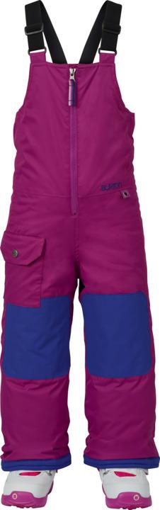 dětské zimní kalhoty BURTON MS MAVEN BIB PT GRAPESEED