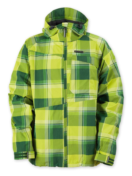 pánská jarní bunda HORSEFEATHERS Linear green check