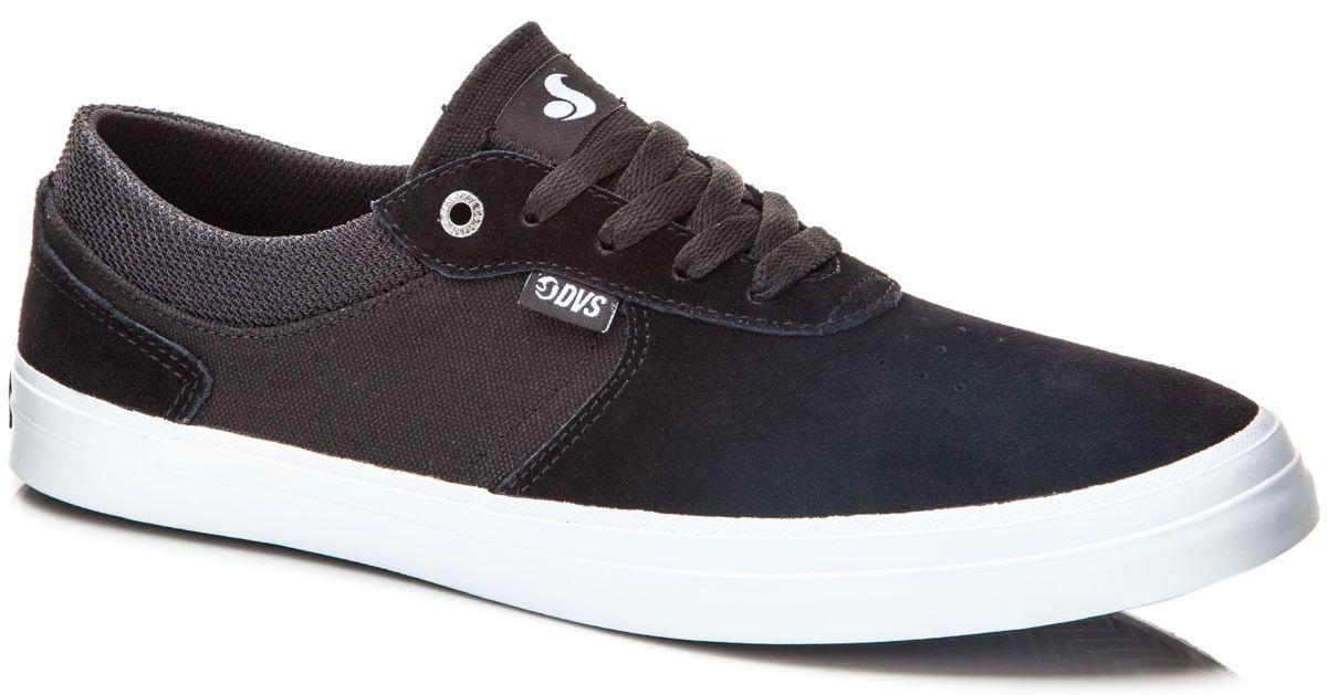 pánské boty DVS MERCED BLACK WHITE