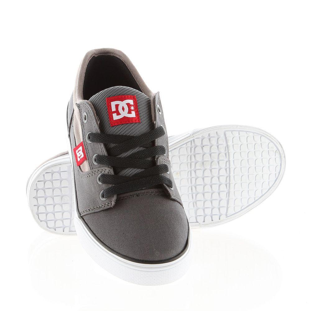 dětské boty DC BRISTOL CANVAS B SHOE GRW