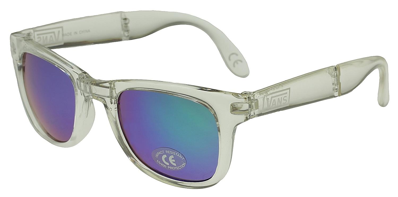 pánské sluneční brýle VANS FOLDABLE SPICOLI SHADES Clear