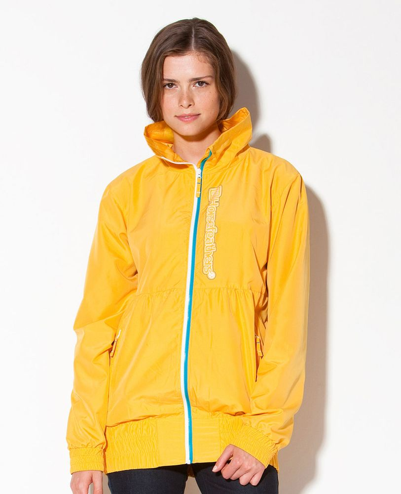 dámská jarní bunda HORSEFEATHERS PEBBLE JACKET (yellow)