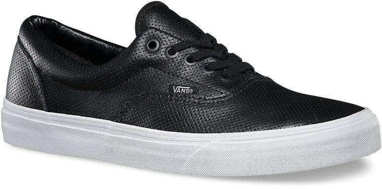 pánské boty VANS ERA (Perf Leather) Black